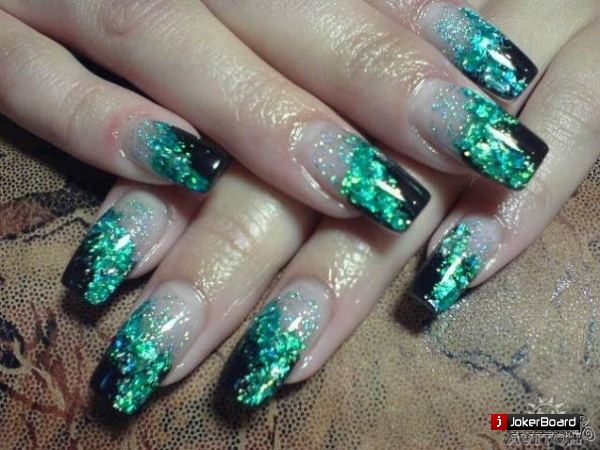 Как сделать красивый аквариум на ногтях