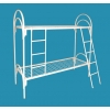 Двухъярусные кровати металлические для детских оздоровительных лагерей,  опт