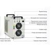 Плоскопечатная машина UV охлаждается чиллером CW-5200 S&A