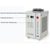 Оптоволоконный лазерный резак охлаждается чиллером с двумя режимами контроля температуры CW-6000