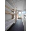 IХостел предлагает спальные места,  комнаты.