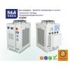 Акриловая лазерная машина гравировки и резки охлаждается двухтемпературным и двухнасосным чиллером S&A CW-6100AT