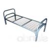 Кровать металлическая одноярусная,   двухъярусная
